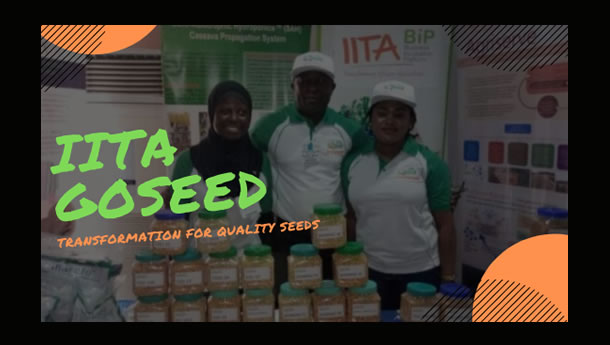 IITA BIP Attends NASC Seed Connect in Abuja in April 2019
